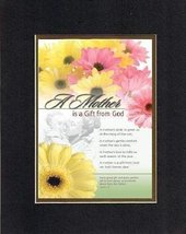 Poems for Mother's Day - A mother is a gift from God. . . . . James 1:17. . . 8  - $11.14