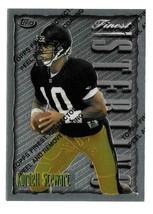 1996 Kordell Stewart Topps Finest Sterling - Pittsburgh Steelers - $1.28