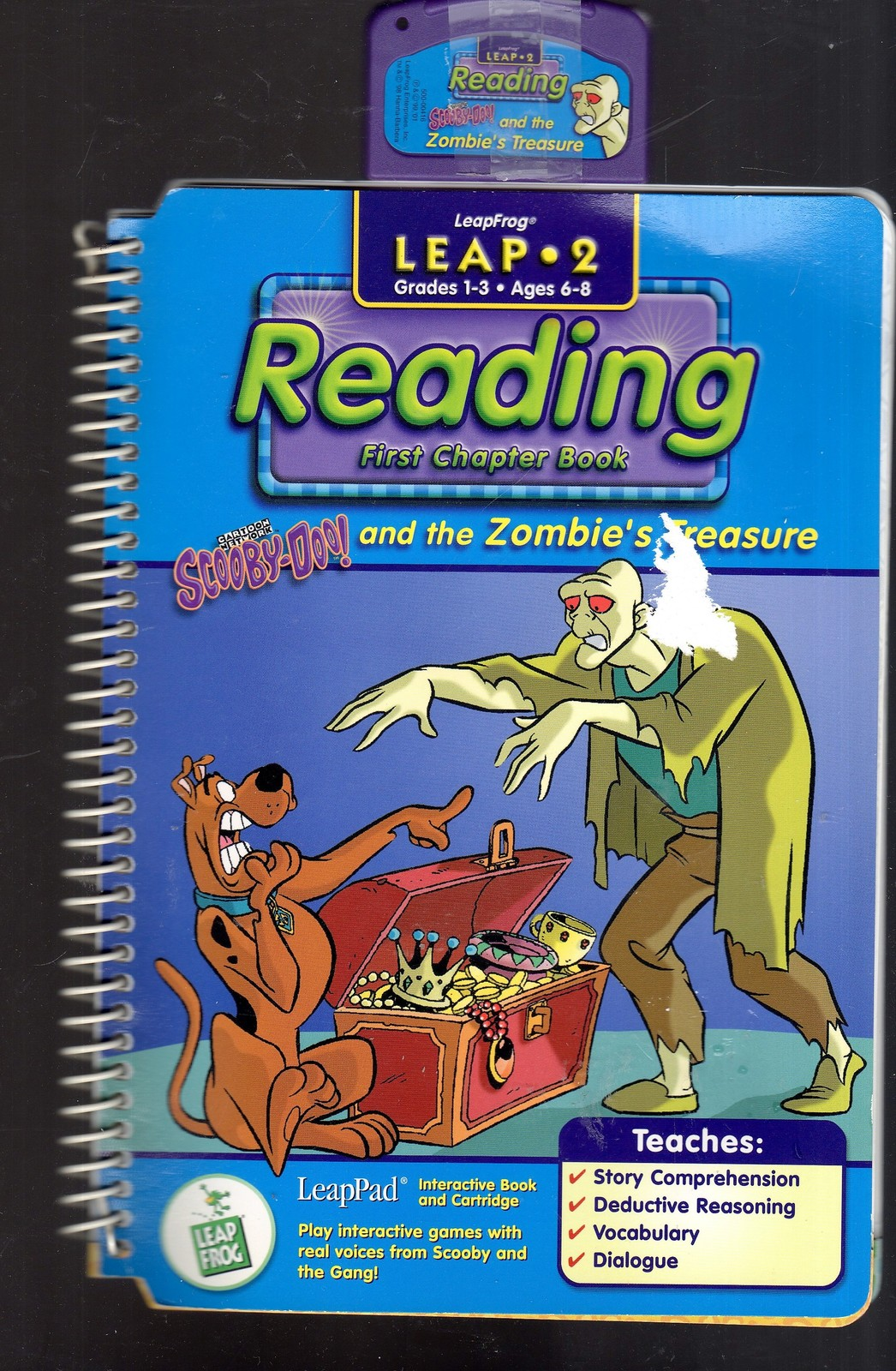 LeapFrog - READING  - Scooby-Doo! and the Zombie's Treasure - Leap - 2