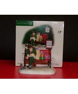 """Dept 56 Christmas in the City """"Asleep At The Bus Stop""""; #58993-NEW IN BOX - $21.78"""