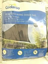 Coolaroo Ready to Hang Triangle Shadesail Montecito Grey NEW WITH TAGS -(STORE) image 8