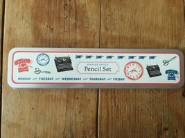 Cavallini & Co. Vintage Style Day To Day  Pencil Set (10 Pencils & 1 Sha... - ₹644.01 INR