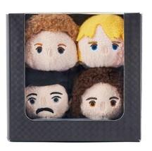 Disney Store QUEEN TSUM TSUM 4 Plush Doll Box  QUEEN EXHIBITION Japan Li... - $64.17