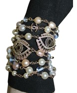 New $2000 Chanel Pearl Eye Love Charm Bracelet Bag - $1,272.04