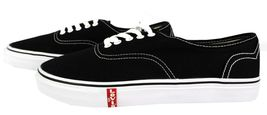 NEW LEVI'S MEN'S CLASSIC PREMIUM CASUAL SNEAKERS SHOES RYLEE 514293-01A BLACK image 6