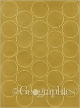 Geographics Certificate Gold Foil Seals, 1 3/4 Inches dia., Gold Foil, 4... - $17.73