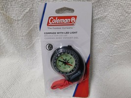 Coleman Compass With Led Light - $11.99