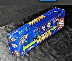 Blue Michele Wally #15 Die-Cast Collector Trailer Rig Winner's Circle AA19-NC80 image 5