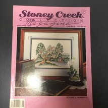 Stoney Creek Collection Cross Stitch Magazine March/April 1990 - $12.59