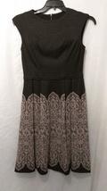 Lovely Maggy London Black Beige Dress - $40.00