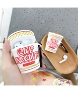 Cute Cup Noodles Ramen Cartoon Apple AirPod Case Earphone Charging Cover... - $6.99