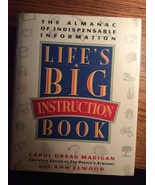 Lifes Big Instruction Book the almanac indispensable information Carol M... - $3.95