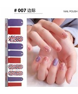 Full Wraps Shinning Nail Stickers Decals DIY Nail Art Stickers for 20 Fi... - $11.81