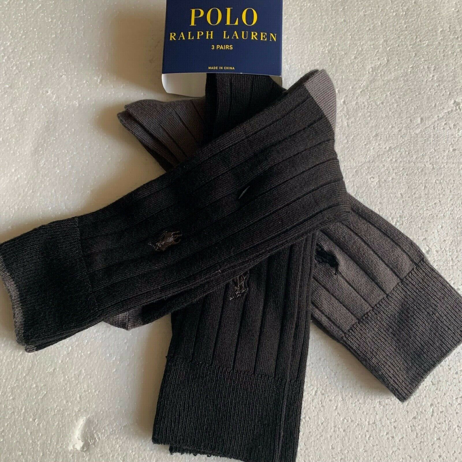 Primary image for Polo Ralph Lauren Dress Socks 10-13 shoes