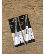 2 x Covergirl Perfect Blend Eyeliner Pencil  - new  Color #100 Basic Bla... - $12.99