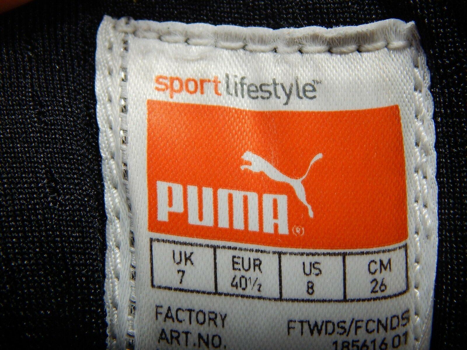 Puma Handy 185616 01 Größe Us 8 M (D) Eu 40.5 Herren Laufschuhe Weiß Schwarz