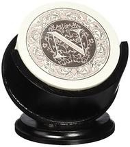 Thirstystone Monogram Sandstone Coaster Set with Pedestal Holder, N - $17.13