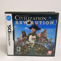 Sid Meier's Civilization Revolution Complete (Nintendo DS, 2008) CIB w/ ... - $11.29