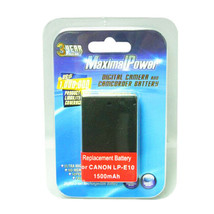 MaximalPower™ LP-E10 1500mAh Battery for Canon Rebel T6 Digital SLR Camera - $8.90