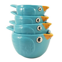 Pacific Giftware Creative Adorable Blue Birds Ceramic Nesting Measuring ... - $19.79