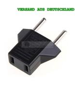 Travel Adapter US Jack On EU Euro Plug Power Adapter Plug Converter - $3.82