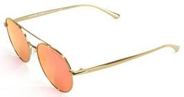 Michael Kors Sunglasses Lon Gold Tone Mirror Lens Womes Ladies - $160.80