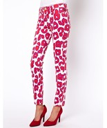 VIVIENNE WESTWOOD ANGLOMANIA for LEE Jeans Skinny Animal Print Leopard 25 - $38.61