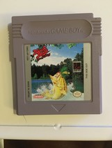 Nintendo Game Boy Black Bass Lune Fishing Cleaned & Tested authentic Fre... - $7.49