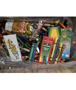 Bulk Lot 6 - 7 lbs CRAYONS Almost All CRAYOLA Melting Crafts Pounds BIG ... - $33.64