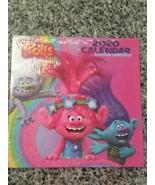 2020 Calendar Trolls DreamWorks Wall Calendar 12 Months 10x10 New Sealed... - $4.94