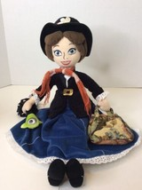 Disney Mary Poppins Soft Plush Stuffed Doll 20in Bag Umbrella Store Excl... - $98.99