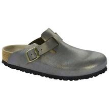 Birkenstock Womens Boston Metallic Stone Gold Sandal Slippers Clogs Size... - $139.99