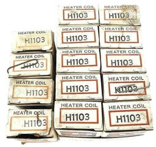 LOT OF 14 NEW CUTLER HAMMER H1103 HEATER COIL H-1103
