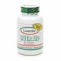 Liverite Liver Aid Tablets 90 tablets - $19.60