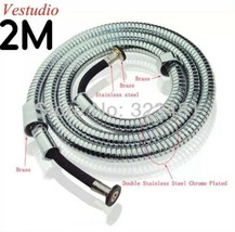 Hotel Spa Extra Long StainlessSteel Flexible Tube Stretchable Shower Hos... - $15.83