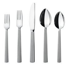 Bernadotte by Georg Jensen Stainless Steel Flatware 5 Piece Place Settin... - $112.50