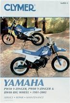 Clymer Manual Yamaha PW50 & PW80 Y-Zinger & BW80 Big Wheel 81-02 - $36.95
