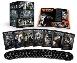 Brand New Universal Classic Monsters Complete 30-Film Collection Sealed Box Set - $57.00