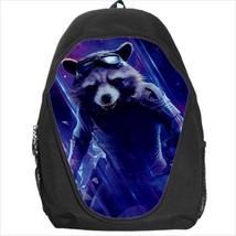 backpack bookbag rocket raccoon gotg - $41.00