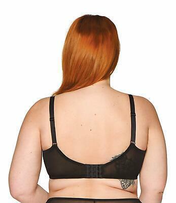 curvy kate black delightfull side support bra us 36k uk