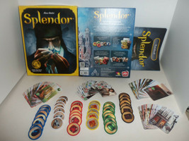 Marc Andre' Splendor Medieval D&D Board Game Complete Tokens Cards And Rule Book - $69.25