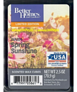 Warm Spring Sunshine Better Homes and Gardens Scented Wax Cubes Tarts Melts - $3.75
