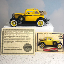 NATIONAL MOTOR MUSEUM MINT diecast model car 1932 ford V-8 convertible s... - $39.55