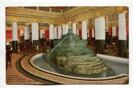 Fountain in Pompeiian Room Congress Hotel and Annex Chicago Illinois - $3.99