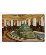 Fountain in Pompeiian Room Congress Hotel and Annex Chicago Illinois - $4.99