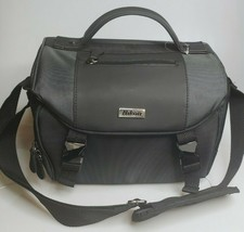 Genuine Nikon Deluxe Digital SLR DSLR Black Padded Shoulder Camera Bag N... - $39.95