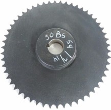"NEW MARTIN 50BS54 1 7/16 SINGLE ROW SPROCKET 1-7/16"" BORE 54 TEETH"