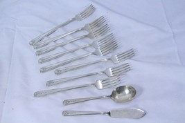 Community Plate Milady Oneida Grille Forks Spoon Butter Knife Lot of 11 - $39.19