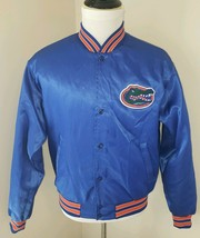 Swingster Size Large University of Florida UF Blue Vintage Satin Jacket ... - $42.74