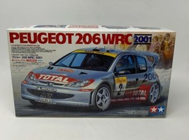 Tamiya Peugeot 206 WRC 2001 New Model 1/24 Sports Car Series 24236 NOS 19-1 - $25.61